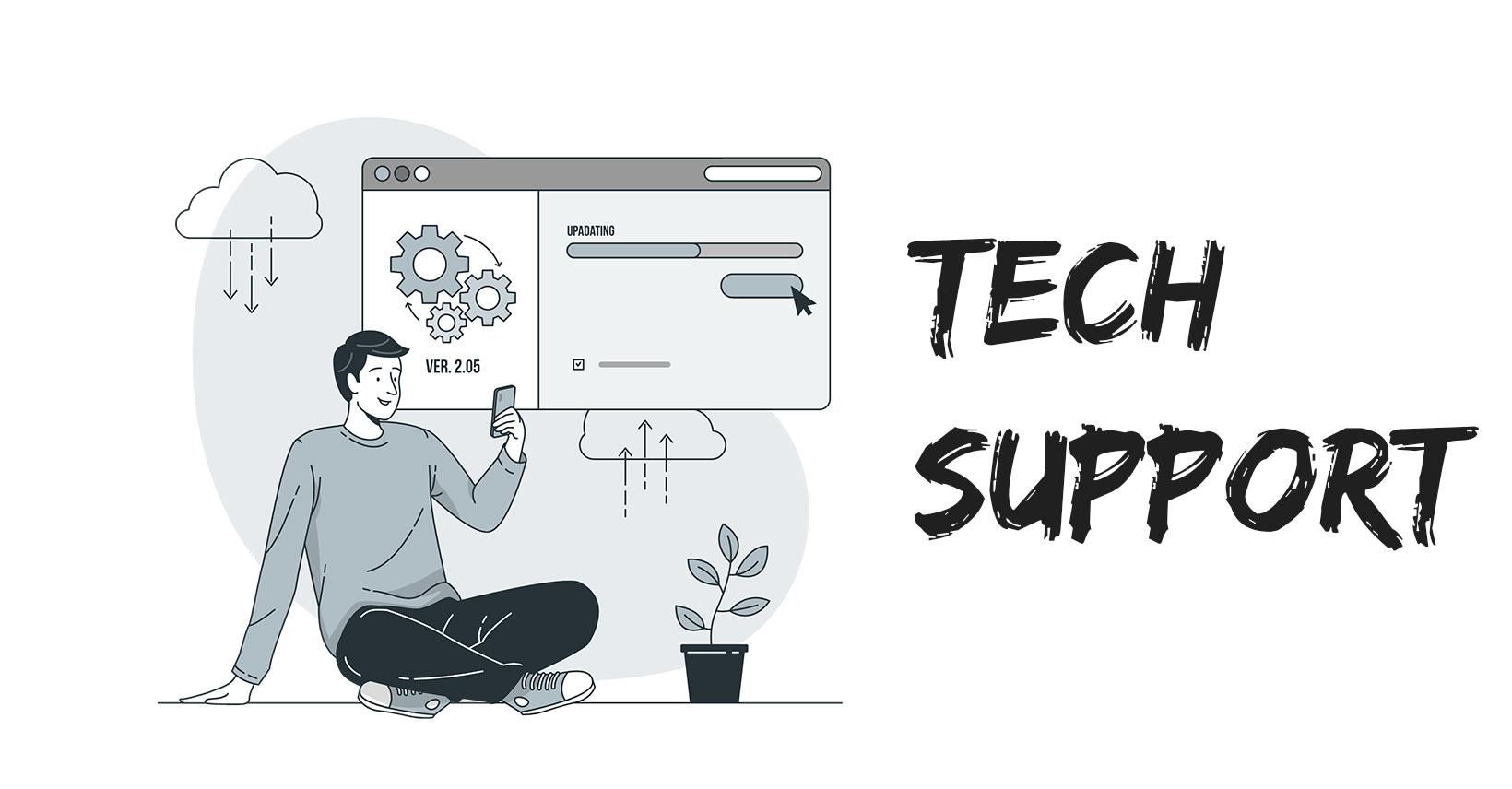 Τεχνική υποστήριξη